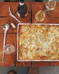 Rustic Italian Dinner Menu