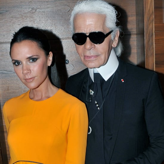 Victoria Beckham Shoots French Elle With Karl Lagerfeld