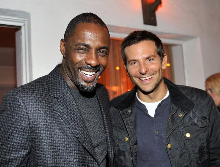 Bradley Cooper and Idris Elba made a handsome pair.