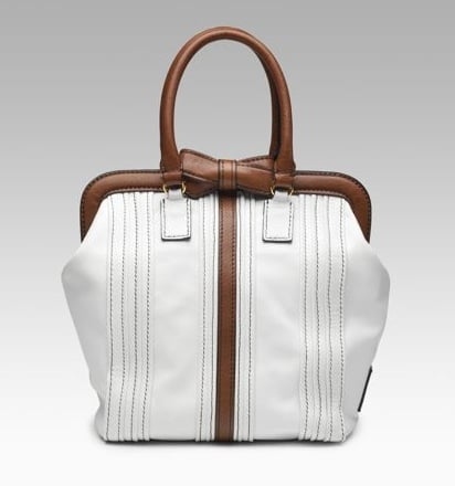 Guess Who Designed This Sweet White Bag?