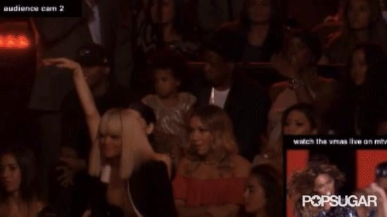 And that unfortunate time Rita Ora blocked our view of Blue Ivy during Beyoncé's performance.