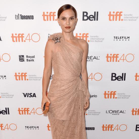 Natalie Portman Toronto Film Festival Red Carpet Pictures