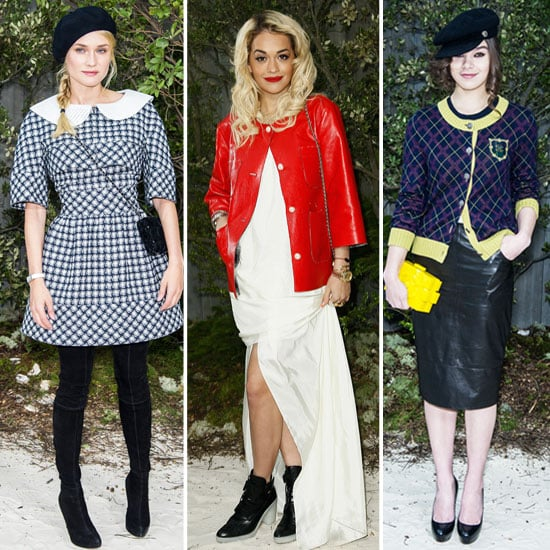 Celebrity Front Row Style at Chanel's Couture Runway Show