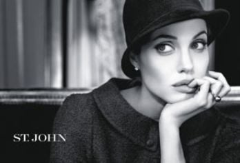 Angelina & St John Team Up for Charity