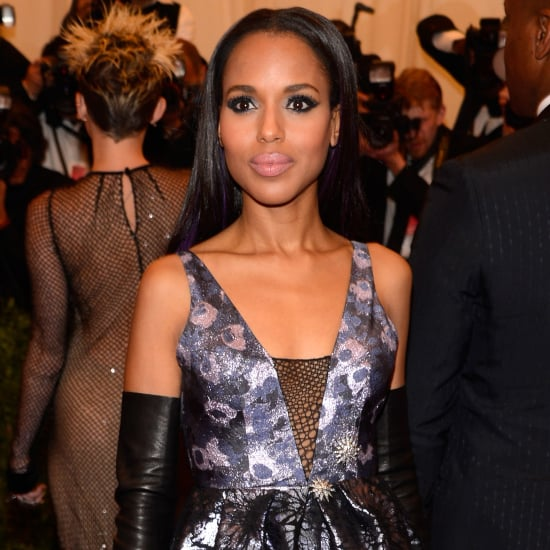 Kerry Washington Wears Vera Wang to the 2013 Met Gala