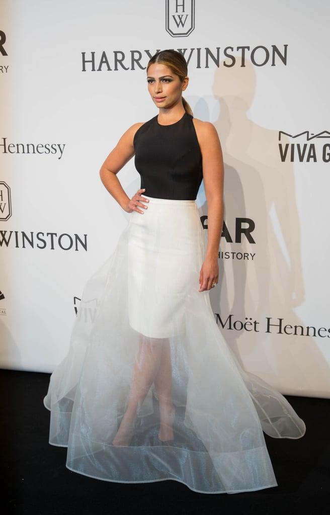 In February 2015 at the amfAR New York Gala