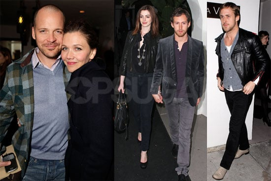 Photos of Anne Hathaway, Ryan Gosling, and Quentin Tarantino at Audi's Inglourious Basterds Party in LA