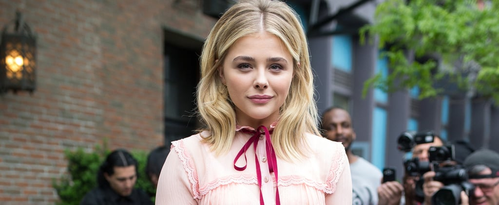 Chloë Grace Moretz Is the Latest Star to #ChooseGucci For a Talk-Show Interview