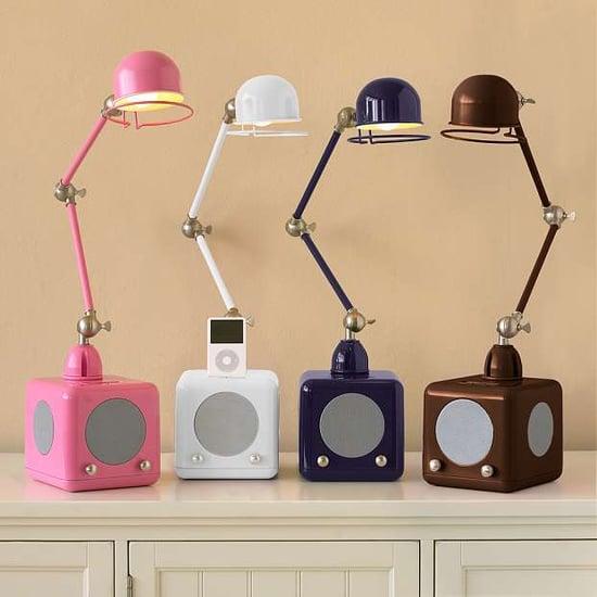 Hi-Fi Light From PBTeen Resembles Jielde Lamp With iPod Dock