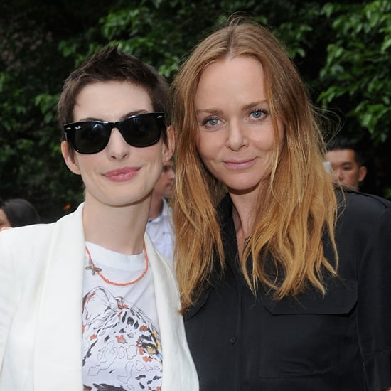 Anne Hathaway Pictures at Stella McCartney Preview