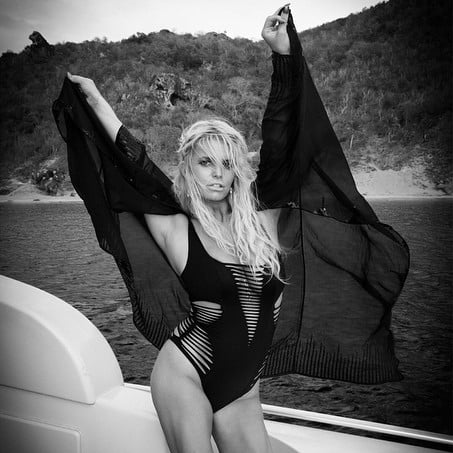 Jessica Simpson's Swimsuit Instagram Picture July 2015