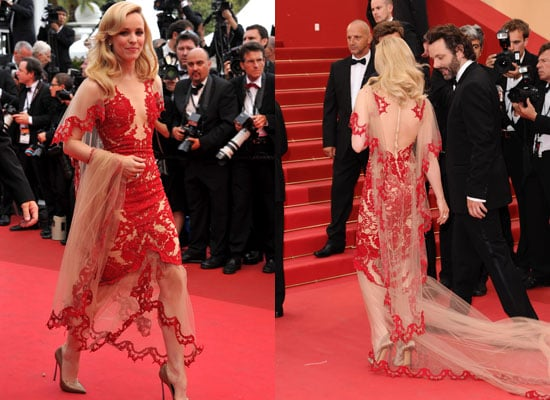 Pictures of Rachel McAdams in Marchesa Fall 2011 Dress at the Cannes Film Festival