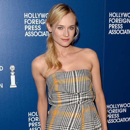 Diane Kruger and Liam Hemsworth at the HFPA Luncheon in LA