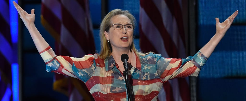 Meryl Streep Wore the American Flag Dress Even Miranda Priestly Would Approve Of