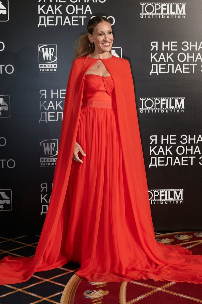 Sarah Jessica Parker promotes I Don't Know How She Does It in Moscow.