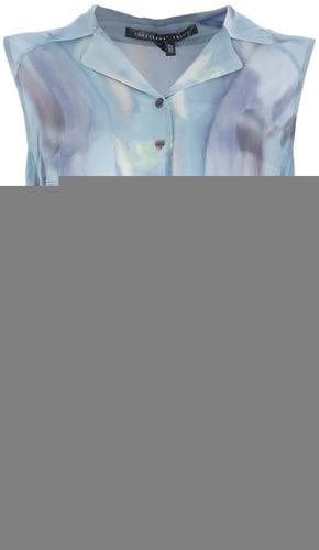 Theyskens' Theory 'Badge' soft print shirt