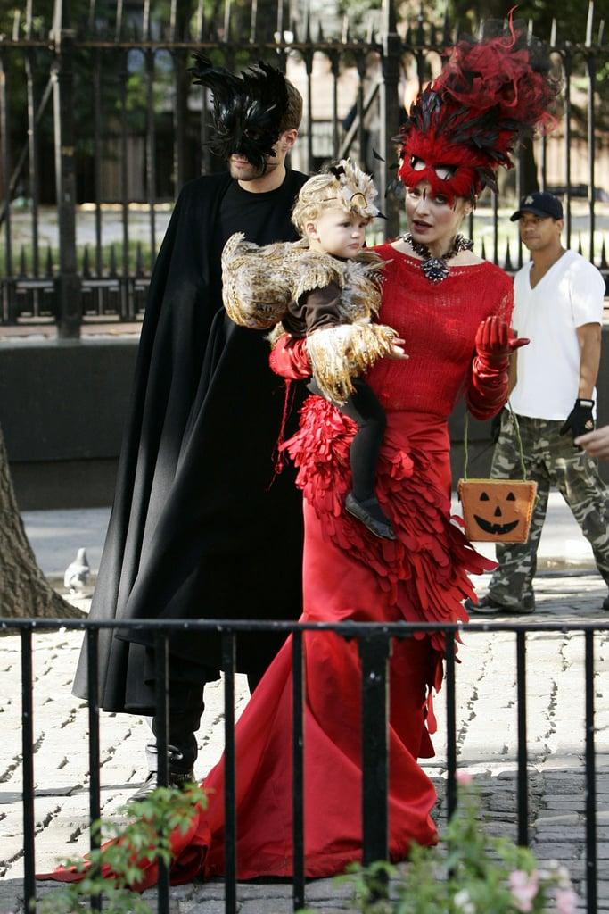Rachel Weisz Plays Dress-Up With Henry Chance