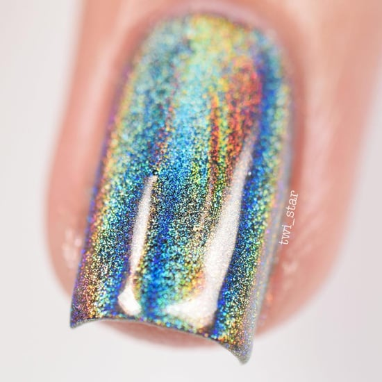 Holographic Nail Powder Videos