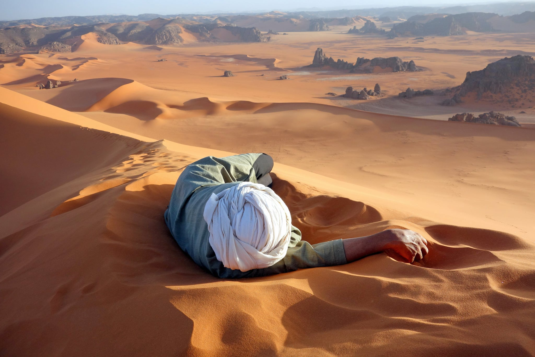 Merit Winner — A Well Earned Rest in the Sahara