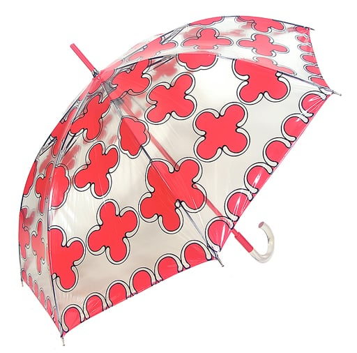 Echo Design Medallion Clear Stick Umbrella