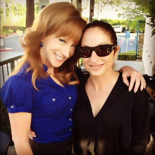 Kathy Griffin spent time with her friend Gloria Estefan.  Source: Instagram User kathygriffin