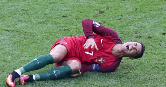 Cristiano Ronaldo Sobs and Screams in Pain After Injury as Portugal Defeats France at Euro 2016 Final