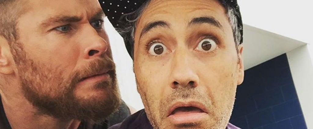 Go Behind the Scenes of Thor 3: Ragnarok With Instagrams From the Cast