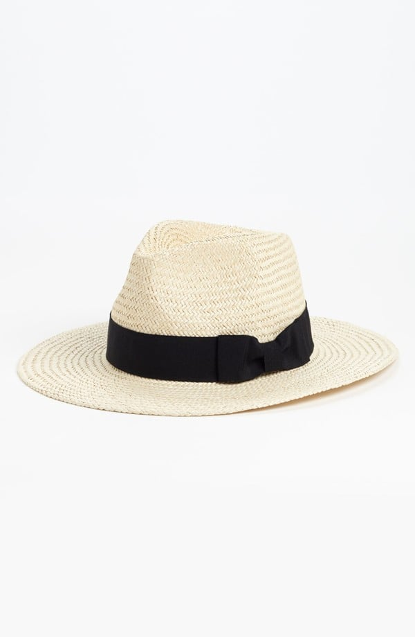 We're suckers for a good Summer hat, and Trouve's Straw Panama Hat ($28) is a current fave. It'll truly go with everything and gives even the most basic look a vacation-ready vibe.