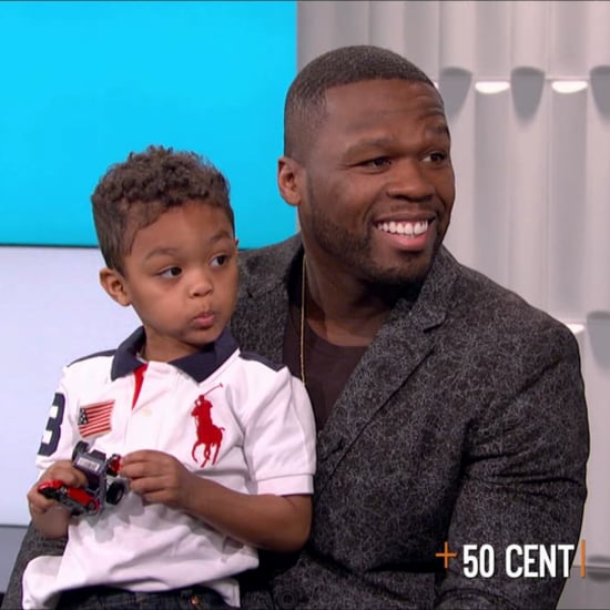 50 Cent's Son Crashes Interview