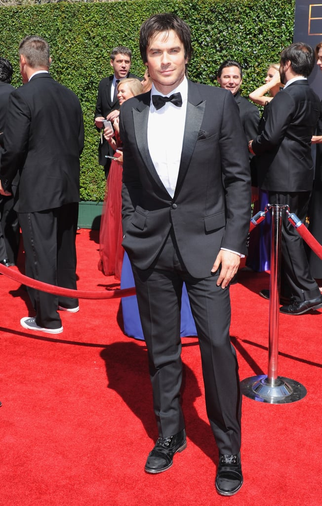 Ian Somerhalder brought his good looks.