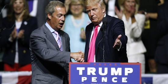 Thursday's Morning Email: Farage And Trump: Brexit Bedfellows