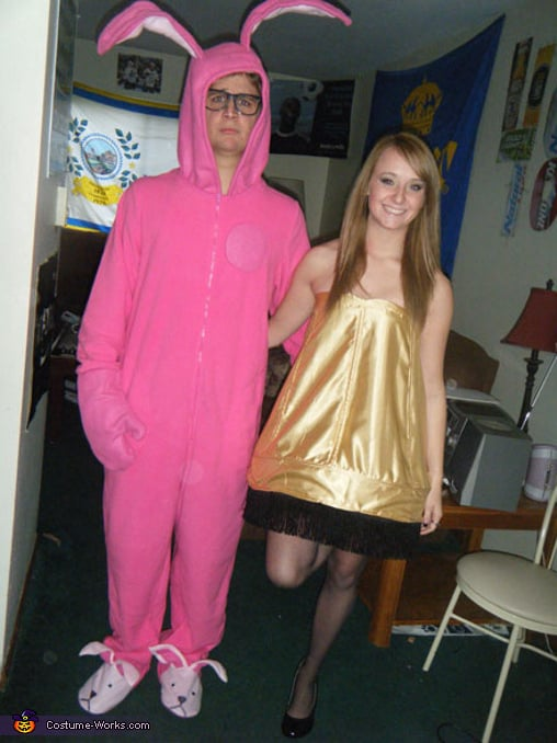 Leg Lamp and Pink Nightmare From A Christmas Story