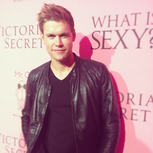 """Chord Overstreet walked the red carpet at the Victoria's Secret """"What Is Sexy?"""" event.  Source: Instagram user victoriassecret"""