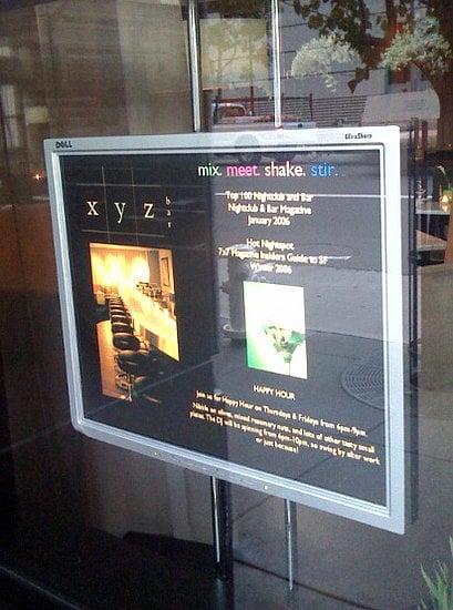 Spotted: Dell UltraSharp Flat Panel Monitors As Scrolling Menus!