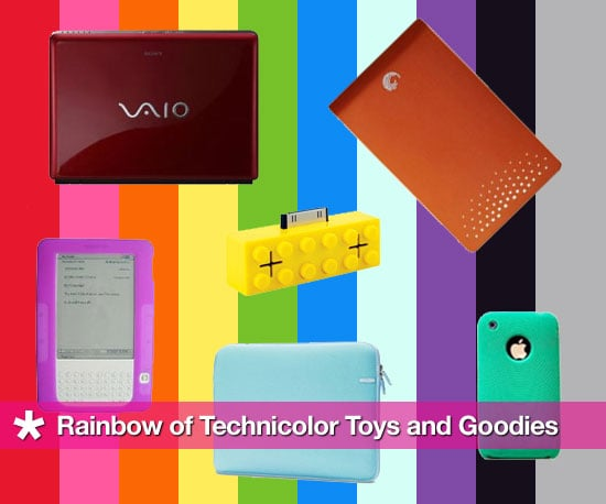 A Rainbow of Technicolor Toys and Goodies
