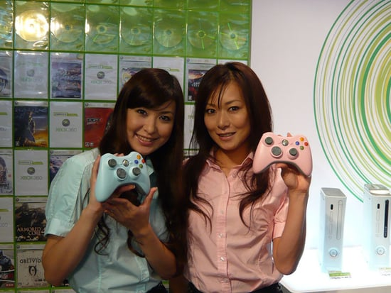 Love It or Leave It? Blue and Pink Xbox 360 Controllers
