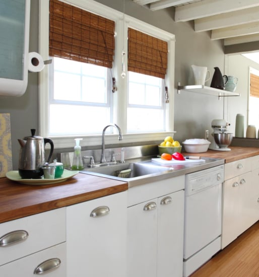 J K Kitchen Cabinets: Before And After: A Sweet Galley Kitchen Makeover