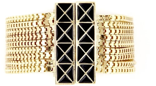 Enamel Multi Strand Bracelet