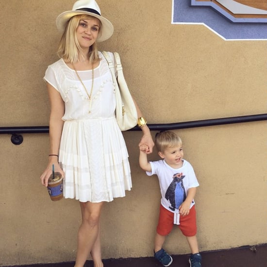 Reese Witherspoon With Tennessee Toth in New Orleans