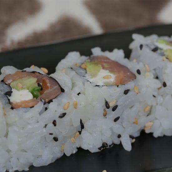 Salmon Sushi Roll Recipe