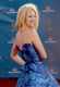 January Jones Mixes Beachy Hair and High Fashion For the Emmys