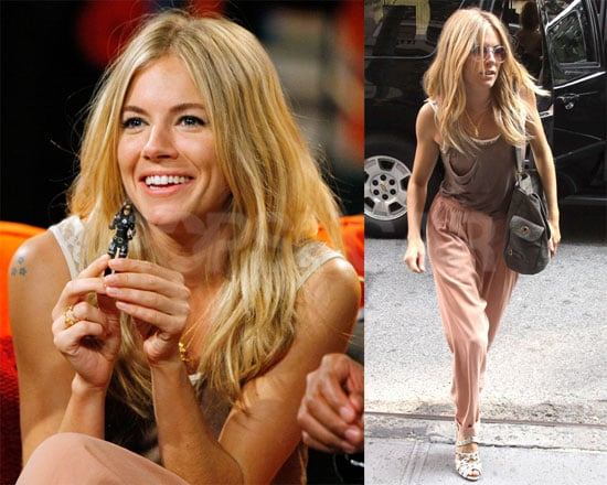 Photos of Sienna Miller Promoting GI Joe And Talking About Balthazar Getty