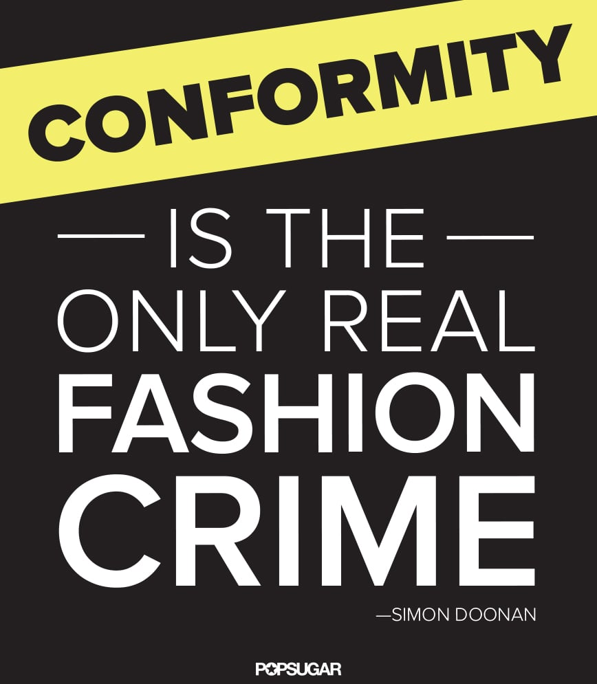 Tell that to the fashion police.