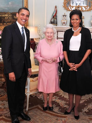 President Obama Gives the Queen an iPod