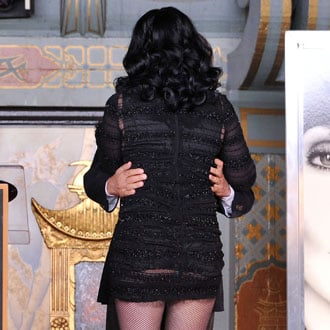 Who Wore a Butt-Baring See-Through Dress?
