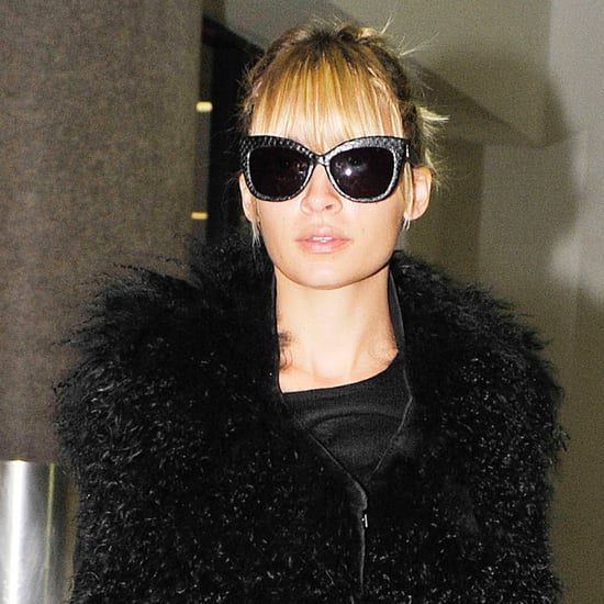 Nicole Richie in All-Black at LAX Airport!