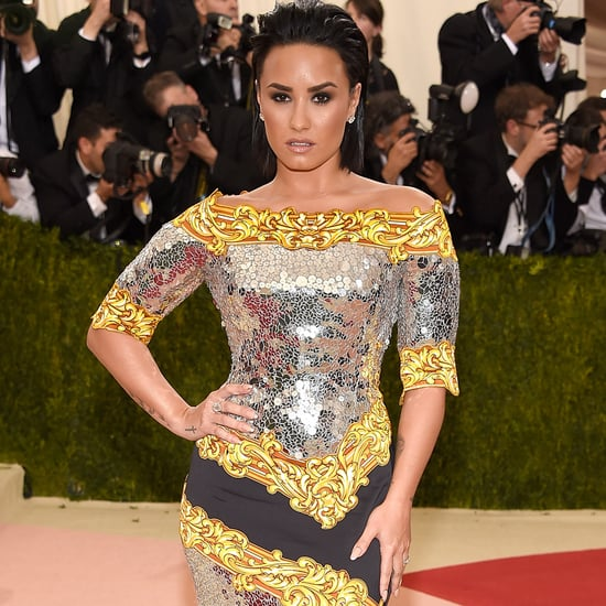 Demi Lovato Moschino Dress at Met Gala 2016