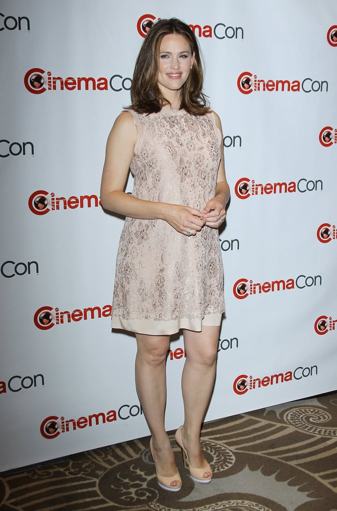 Jennifer Garner was an attendee at CinemaCon in Las Vegas.