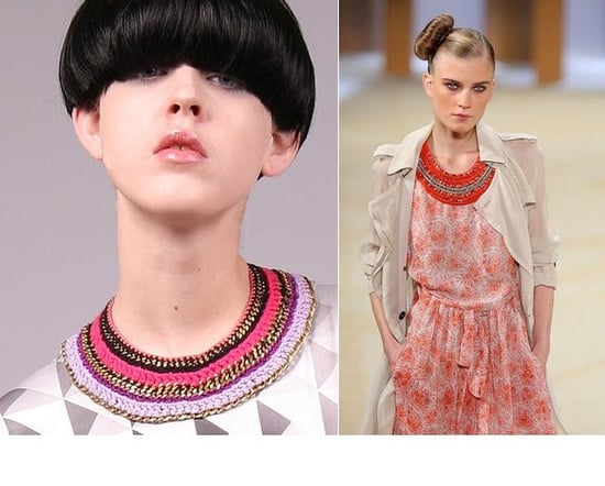 Trend Report: Textured Collar Necklaces
