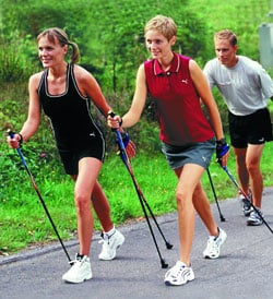 Nordic Walking, More Than Putting One Foot In Front of The Other